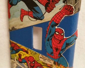 Spiderman Light Switch