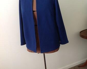 1960s navy blue jacket