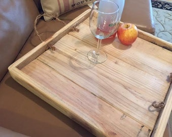 """Reclaimed Wood Tray """"The Julep"""""""
