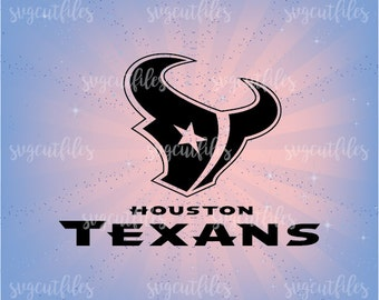 SVG Houston Texans - Cricut, Silhouette Studio cutting file, Instant Download