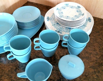 Vintage Melmac/Melamine Dinner or lunch set