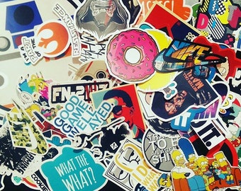 Custom Sticker, Custom Logo Sticker, Personalized Sticker - YOUR LOGO or DESIGN - Vinyl Sticker with Laminating
