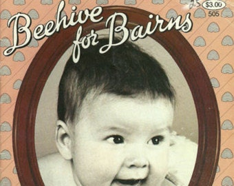 Knitting and Crochet Patterns, Babies Beehive for Bairns 50th Anniversary Special by Patons Baldwins