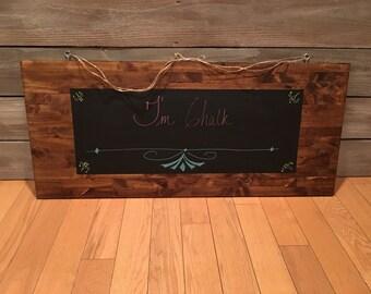 Farmhouse style chalk board, chalkboard, chalk board