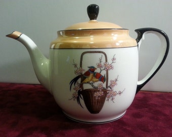 Antique Noritake Luster Teapot