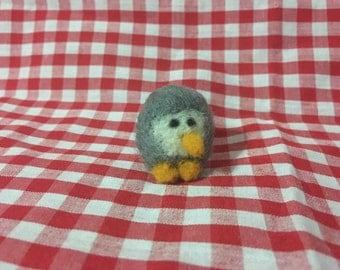 Tiny needle felted owl