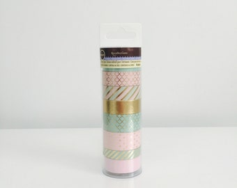 Recollections Mint & Pink Washi Tape