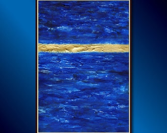 Abstract Art, Modern Painting or Textured Abstract Acrylic Painting Ready to hang: Original Modern Art, Abstract Impressionistic Painting