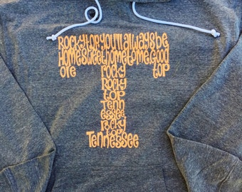 """Rocky Top """"T"""" hoodie"""