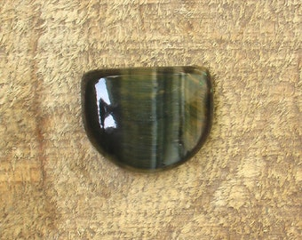 Blue Tiger Eye Cabochon
