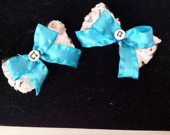 Vinyl Scratch Lace Bows