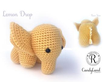 Lemon Drop Emily - Yellow Elephant