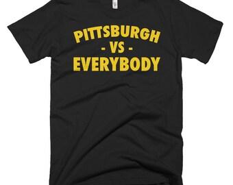 Pittsburgh Vs Everybody, Pittsburgh Penguins, Everybody Shirts, Vs Everybody Shirt, Vs Everybody T Shirt, Pittsburgh T Shirt, Penn T Shirt