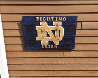 Notre Dame Sign
