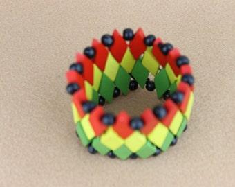 African Rasta Bracelet