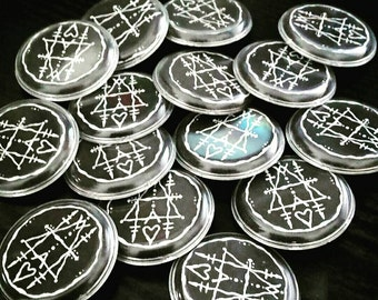 Ancient Hearts Sigil Buttons
