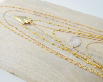 Evan Layered Necklace