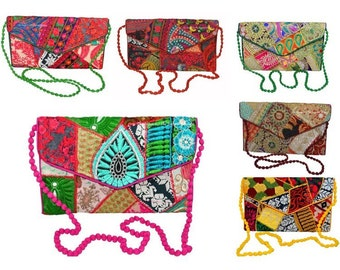 Hand made embroided purses