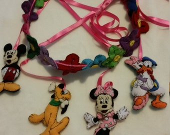 minnie mouse and friends  baby mobile