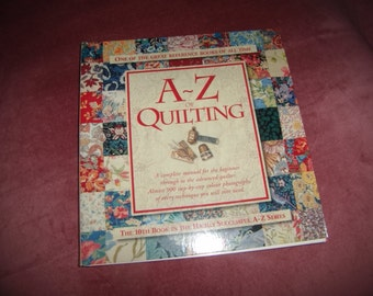 A to Z Quilting by Country Bumpkin Publiciations