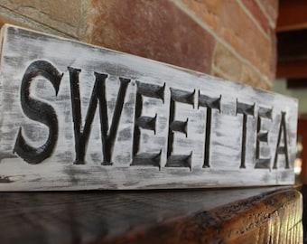 fixer upper decor, sweet tea sign, farmhouse kitchen, rustic kitchen decor, rustic kitchen sign, fixer upper sign, fixer upper style