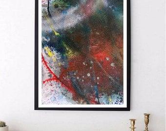 4 Abstract High-Resolution Printable Wall Art, Digital Download Art/Print