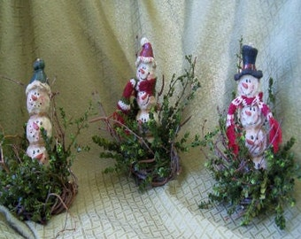 Snowman Totems
