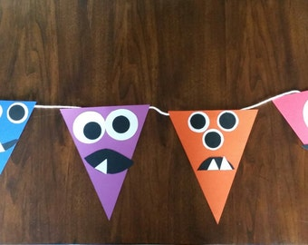 Monster party banner
