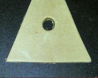 5 Leather Hexagon