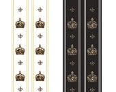 Royal Crown Lady,  Lolita rococó ribbon jewelry kawaii cute tights pantyhose fleur de lis