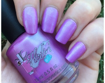 Indie Polish, Nail Polish, Lavender Nail Polish - Zero Tolerance, 15 ml.