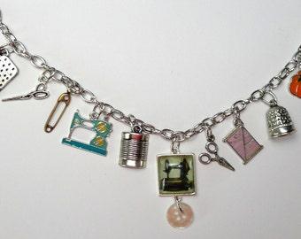 Stitch in Time Charm Bracelet