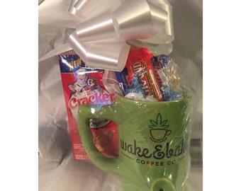 Wake and Bake Munchie Mug Gift Basket
