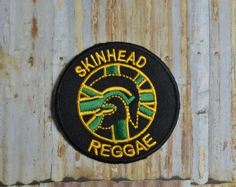 Skinhead Reggae Music Band Embroidered Iron On Or Sew On Patch