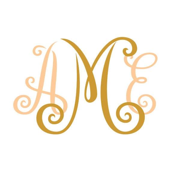 Download Monogram Font Svg Cricut Fonts Svg Fonts letters svg