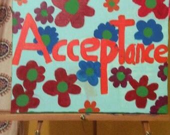 Acceptance canvas