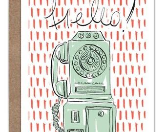 Hello! Telephone Card