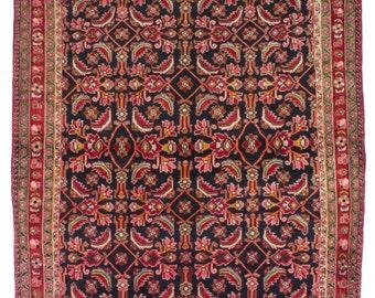 "A 5'7"" x 6'9"" Vintage Persian 1970's  Lilihan - Rug"