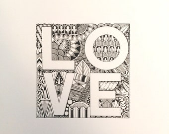 LOVE illustration