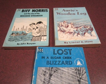 Moody Youth Library, Vintage books, stories for boys, youth fiction