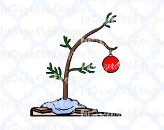 Charlie brown christmas tree – Etsy