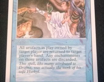 Magic the Gathering MTG Hurkyl's Recall Revised