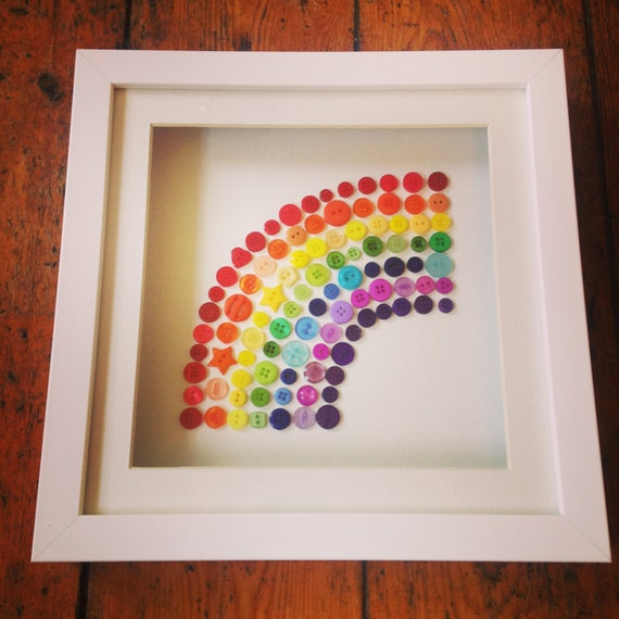 Button Rainbow Frame