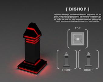 Chessboard - Bishop
