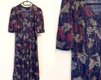 Vintage silk dress