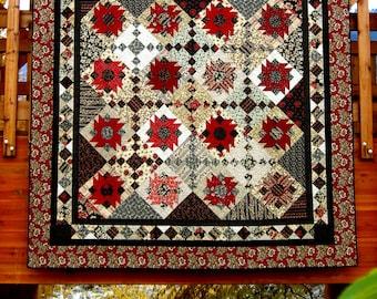 Desert Flower Quilt Pattern