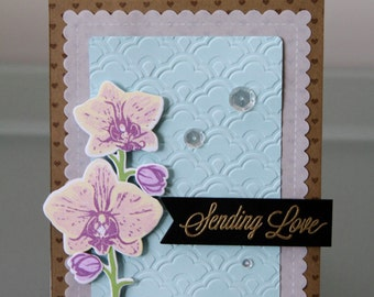 Orchid Card