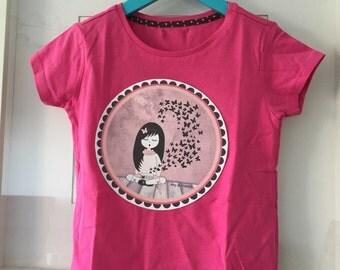 T-shirt girl BBY completo box