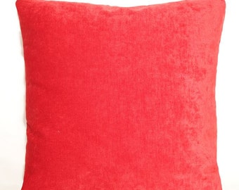RED CHENILLE 20""