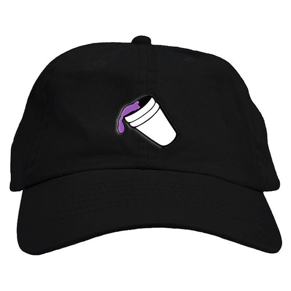 purple drank lean drink hat baseball cap low profile